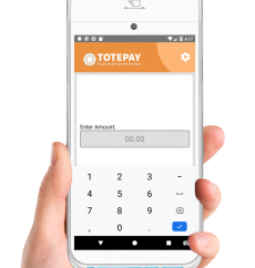 Totepay mPOS manual order entry