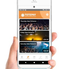 Totepay mPOS ticket selling